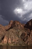 Storm Clouds over the Colorado River
