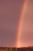 A Rainbow over Interstate 40