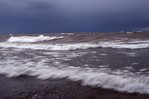 Stormy Lake Superior in October
