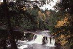 Manabezho Falls on the Presque Isle River