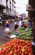 A Produce Market on Calle 8, near Mercado Central