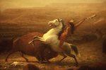 """The Last of the Buffalo"" (by Albert Bierstadt, c.1888)"