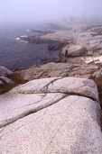 Fog on the Rocky Atlantic Coastline