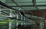 In the United Airlines Terminal (1985-88) at O'Hare International Airport