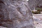 Petroglyphs near the Rio Grande