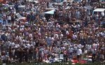 The Infield Crowd at the Indianapolis '500'