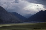 Storm Clouds over the Aichilik River Valley