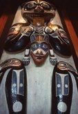 A New Tlingit Totem Pole, Detail