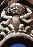 The World's Oldest Totem Still in its Original Location, Detail