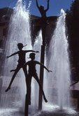 Children's Memorial Fountain (by Dennis Smith, 1986)