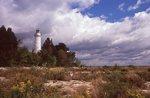 The Cana Island Lighthouse on Lake Michigan (1869)