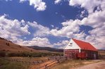 A Barn near the Continental Divide in Montana