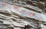 Pictographs in Galindo Canyon on the Rio Grande