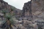 The Entrance to Santa Elena Canyon on the Rio Grande