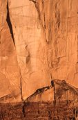 An Interface of Coconino Sandstone and Hermit Shale