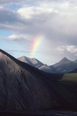 A Rainbow over the Aichilik Valley