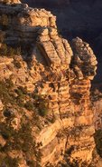 Layers of Time at Sunrise, Mather Point