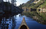 A Canoe on Upper Echo Lake