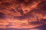 Sunset over Monument Valley (Cloud Study #118)