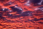 Sunset Clouds over Northern Illinois (Cloud Study #120)