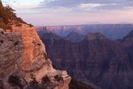 Bright Angel Point at Sunset