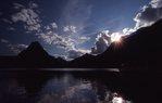 Two Medicine Lake at Sunset