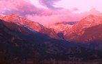 Sunrise from Moraine Park