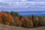 A Charlevoix Hillside above the St. Lawrence River