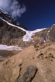 Angel Glacier in 1991