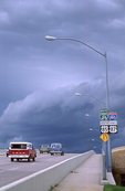 Storm Clouds over Interstate 180