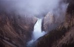 The Lower Falls of the Yellowstone River