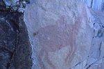 A Petroglyph on Agawa Rock