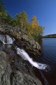 Dry Falls and Bass Lake