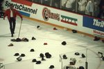 After Dirk Graham's Hat Trick, Game 4, 1992 Stanley Cup Final