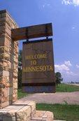 The Minnesota / South Dakota Border at US 212