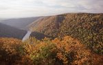 The Cheat River from Coopers Rock