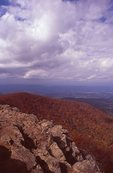 The Shenandoah Valley from Hawkbill Summit