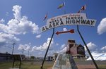 The Entrance to the Alaska Highway