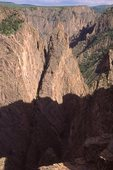Cross Fissures in the Black Canyon