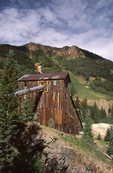An Abandoned Mine in the San Juan Mountains