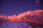 Clouds over the Colorado Rockies (Cloud Study #137)
