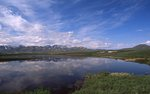 Two Moose Lake on the Blackstone Upland, Dempster Highway