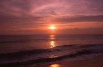 Sunrise over the Atlantic Ocean
