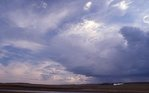 Summer Storm Clouds in the Canadian Arctic