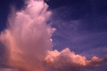 Storm Clouds over the Arizona Desert (Cloud Study #139)