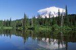 A Lenticular Cloud over Mount Rainier