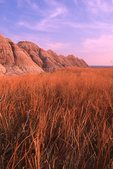 Evening in the White River Badlands