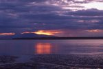Sunset over Cook Inlet Tidal Flats