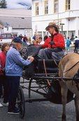 A Carriage Driver in Skagway, Alaska