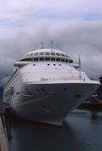 The Cruise Ship Crown Princess in Skagway, Alaska